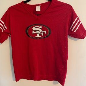 Sports shirt-wear. 49ers Jersey.